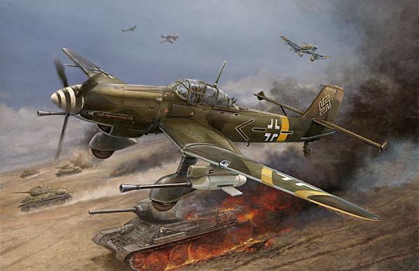 Ju 87d G Stuka Plan Nick Ziroli Scale Plans