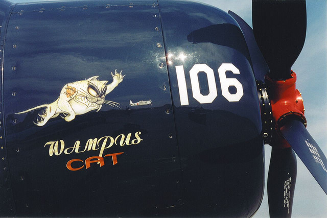 F8 F Bearcat Wampus Cat Vinyl Graphics F8f Bearcat